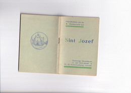 Boekje - Handboekje Van De Godsvrucht Tot Sint Jozef - Leuven - 1941 - Religion &  Esoterik