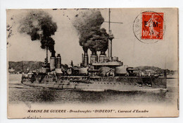 - CPA MARINE DE GUERRE - Cuirassé D'Escadre Dreadnought DIDEROT 1913 - Edition Moulet Et Roure - - Warships