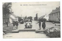 Douane Poste D'arret D'automobile Attelage Cheval Douanier - Zoll