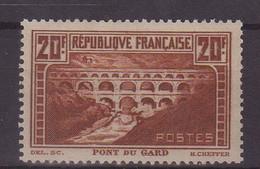 FRANCE : N° 262 ** . TB .  SIGNE SCHELLER . 1929/31 . ( CATALOGUE YVERT ) . - Nuovi