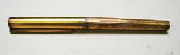Bureau. 34. Stylo Plume ST Dupont Paris, Argent 925, N° H7FY57 - Penne