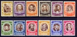Vatican 1946 Yvert 128 / 139 ** TB Coin De Feuille - Unused Stamps