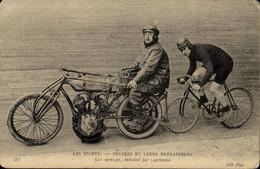 STAYERS   Et Leurs Entraineurs NAT BUTLER  Entrainé Par LAUTHIER - Ciclismo