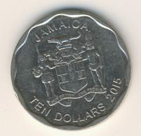 JAMAICA 2015: 10 Dollars, KM 190 - Jamaica
