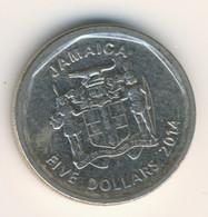 JAMAICA 2015: 5 Dollars, KM 163 - Jamaica