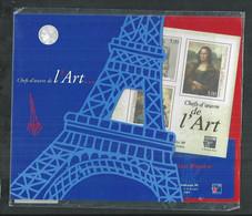 France. Bloc No 23 Les Chefs D'oeuvre De L'art , La Joconde, Le Vénus De Milo;avec Blister D'origine - Mint/Hinged