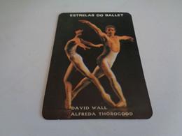 Ballet Stars David Wall Alfreda Thorogood Portugal Portuguese Pocket Calendar 1986 - Klein Formaat: 1981-90