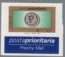 ITALIA REPUBBLICA 2006 POSTA PRIORITARIO € 1,40 MNH S.2894 1 VALORE - 2001-10:  Nuevos