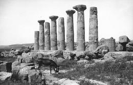 Agrigento - REAL PHOTO - Tempio Di Ercole - Sicilia - Italia - Agrigento