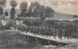 BAINVILLE SUR MADON - Manoeuvres Du 20e Bataillon Du Génie - Passage DuPont Sur Pilotis - Other Municipalities