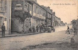 Circuit De La Sarthe 1906 - Virage Dans ST MARS LA BRIERE - De La Touloubre (équipe Bayard) - Autres Communes
