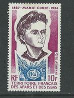 Afars Et Issas P.A. N° 101 XX 40è Anniversaire De La Mort De Marie Curie, Sans Charnière, TB - Unclassified