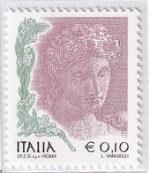 ITALIA REPUBBLICA 2004 DONNE NELL'ARTE  MNH SASS. 2724A+2724B - 2001-10:  Nuevos