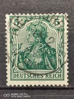Deutsche Reich Mi-Nr. 85 Ll E Gestempelt Geprüft BPP KW 100€ - Gebraucht