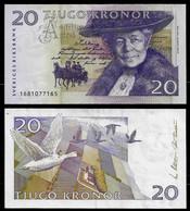 SWEDEN BANKNOTE - 20 KRONOR (2002) P#63a XF/AU (NT#03) - Sweden