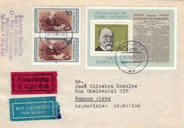Robert Koch - TBC Bakterium Erreger - Block Berliner Klinische Wochenschrift > Buenos Aires - Medicine