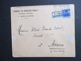 OC 18 Op Brief Uit Roulers/Roeselare Naar Antwerpen - [OC1/25] Gen. Gouv.