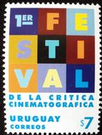 Uruguay, 1999, Mi 2458, Festival Of Film Critics, Montevideo, 1st Ed., 1v, MNH - Cinema