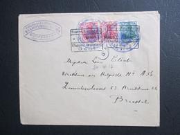 OC 27 & 29(2) Op Brief Uit Oostrozebeke Verschillende Prüfungsstempel - [OC26/37] Etappengeb.