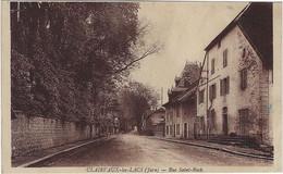 39  Clairvaux Les Lacs  -  Rue Saint Roch - Clairvaux Les Lacs