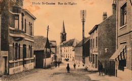 Rhode Saint Genèse Rue De L'église Photo Belge Lumière - Rhode-St-Genèse - St-Genesius-Rode