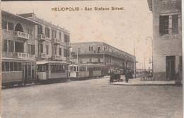 Egypte - HELIOPOLIS - San Stefano Street - Tramway - Non écrite - Sin Clasificación