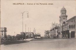 Egypte - HELIOPOLIS - Avenue Of The Pyramids Street - Tramway - Non écrite - Sin Clasificación