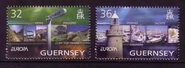 GUERNSEY MI-NR. 1002-1003 POSTFRISCH EUROPA 2004 FERIEN - 2004
