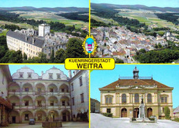 1 AK Niederösterreich * Weitra, Kuenringerstadt - U.a. Das Schloss, Das Rathaus, Eine Luftbildaufnahme Und Das Wappen * - Weitra