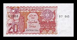 Argelia Algeria 20 Dinars 1983 Pick 133a SC UNC - Algeria