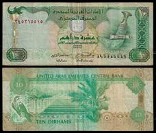 UNITED ARAB EMIRATES BANKNOTE - 10 DIRHAMS 2007 P#20d VF (NT#03) - United Arab Emirates