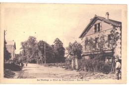 CPA   LE  THILLAY  Hôtel Du Pont Chinois, Rue De Paris - Other Municipalities