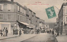 Tarn - Carmaux - La Rue Nationale - Animée - Carmaux