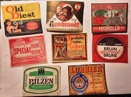 Bieretiketten Biere Etiquette Brouwerij  Alen Waanrode X8 #A6.42 - Bier