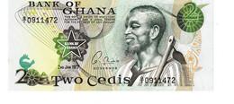 Ghana P.14c 2  Cedis 1977  Unc - Ghana
