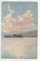 ISOLA MADRE - ILLUSTRATA AUGUSTO LAFORET 1928 - SERIE ARTISTICA LAGO MAGGIORE - VIAGGIATA  FP - Verbania