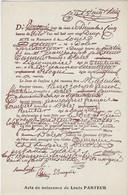 39  Dole  - Louis Pasteur Ne A Dole Acte De Naissance - Dole
