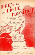 GUERRE 39/45 - PRES DE LA LIGNE MAGINOT - HOMMAGE AUX ALLIES - 1939 - BELLE ILLUSTRATION - EXCELLENT ETAT - - Altri
