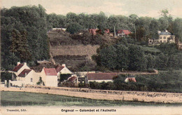 Orgeval - Colombet Et L ' Aulnette ( CPA Envoyée à Maurice Ravel Qui Habitait 4 Av. Carnot à Paris) - Orgeval