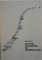 Boek Duitse BUNKER In Nederland Atlantikwall Fortification 1940-45 Blockhaus Flakstellung Gefechsstand Limited Edition ! - War 1939-45