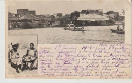 ZANZIBAR Carte à 2 Vues Fleuve Et Marchandes Adressée En 1902 à  Marie Boitte à Issoire - Tanzanie