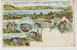 Suisse Gruss Aus MEGGEN - LU Lucerne