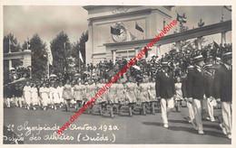 7e Olympiade 1920 Défilé - Suède Sweden Zweden - Olympic Games Oympics - Photo Carte - Foto Kaart - VIIe - Antwerpen - Antwerpen