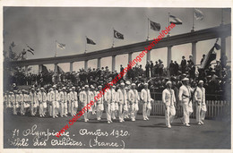 7e Olympiade 1920 Défilé - France Frankrijk - Olympic Games Oympics - Photo Carte - Foto Kaart - VIIe - Antwerpen - Antwerpen