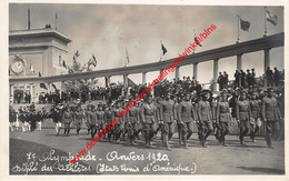 7e Olympiade 1920 Défilé - United States Verenigde Staten Etats-unis - Olympic Games Oympics - Photo Carte - Foto Kaart - Antwerpen