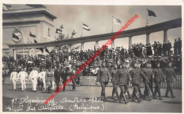 7e Olympiade 1920 Défilé - Belgie Belgium Belgique - Olympic Games Oympics - Photo Carte - Foto Kaart - VIIe - Antwerpen - Antwerpen