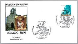 SAN MARTIN - SAINT MARTIN. Alongos - Teon. Ourense, Galicia, 2013 - Christianisme