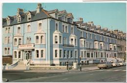 Llandudno, County Hotel - E.T.W. Dennis Postcard - Caernarvonshire