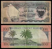 BAHRAIN BANKNOTE - 100 FILS L. 1964 P#1a VF (NT#03) - Bahrain