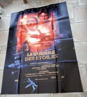 à Saisir-1977-format 120X160cm La Guerre Des étoiles Pliée- Affiche De Cinéma Originale-bel état - Posters
